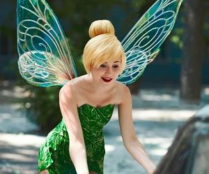 cosplay, tinkerbell, and disney image