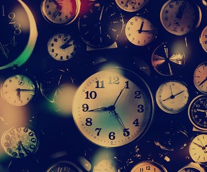 time, wallpaper, and clock image