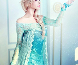 frozen, snsd, and elsa image
