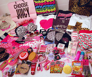 pink, stuff, and girly image
