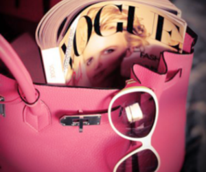 pink and vogue image