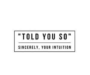 quotes, intuition, and text image