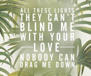 Lyrics, 1d, and drag me down image