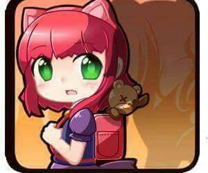 annie, bear, and chibi image