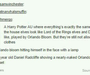 daniel radcliffe, funny, and harry potter image