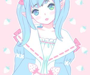 kawaii, girl, and anime image