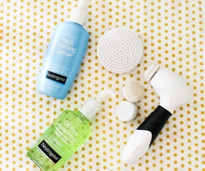 beauty, products, and face wash image