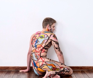 aesthetic, body, and paiting image
