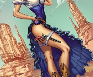 Hot, Oz, and j scott campbell image