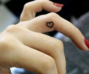girl, hands, and tatto image