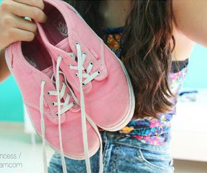 pink and vans image