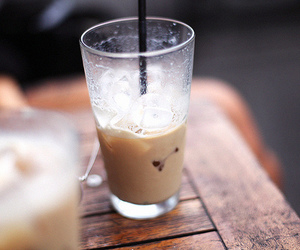 drink, coffee, and food image