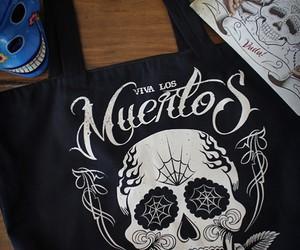 mexican skull, tattoo, and vuduloja image