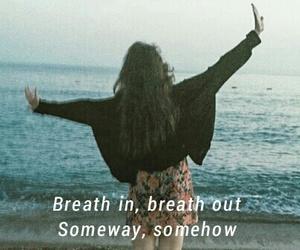breath, free, and Lyrics image