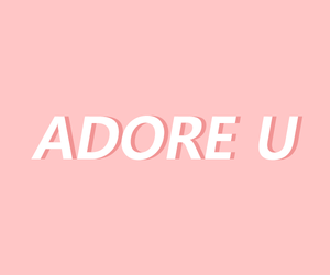adore, pale pink, and pink image