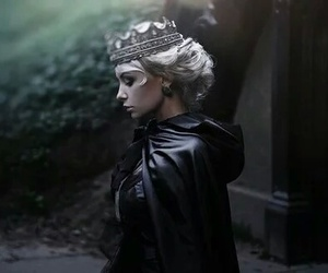Queen, dark, and fantasy image