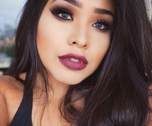 eyes, hair, and makeup image