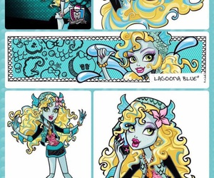 monster high and lagoona blue image