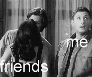 friends, me, and supernatural image