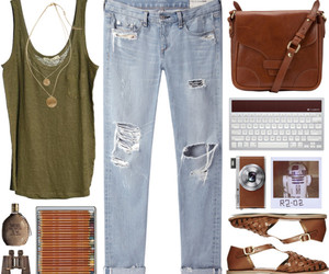 fashion, outfit, and smile image