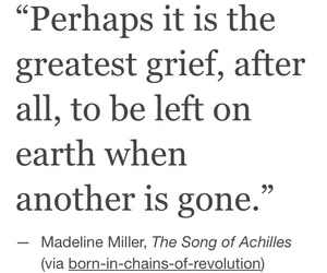 achilles, grief, and quote image