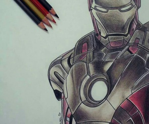 art, Avengers, and doodle image