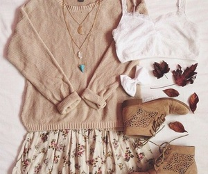 fashion, outfit, and fall image
