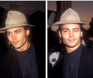 johnny depp, sexy, and young image