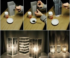 diy, crafts, and lamp image