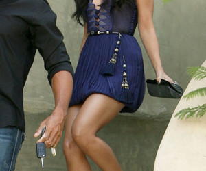 dress, gorgeous, and legs image
