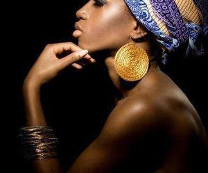 africa, Afro, and turbante image