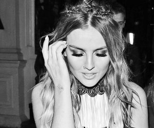 black and white and perrie edwards image