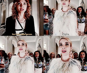 scream queens, chanel, and fox image