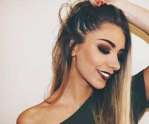 beauty, fall, and makeup image