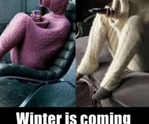 winter, funny, and lol image