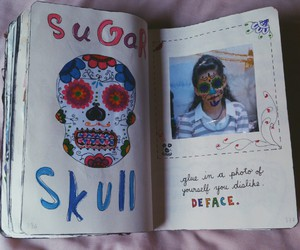 book, create, and deface image