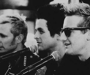green day, tre cool, and billie joe armstrong image