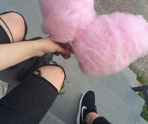 cotton candy, grunge, and tumblr image