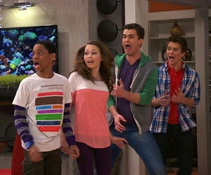 billy unger, lab rats, and spencer boldman image