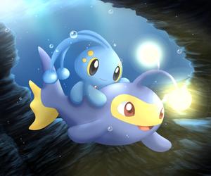 pokemon, lanturn, and manaphy image