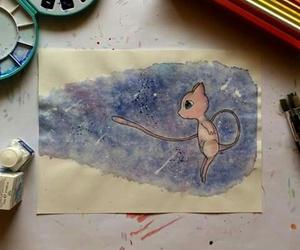 draw, pokemon, and mew image