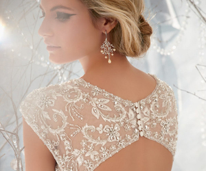 back, glam, and pearls image
