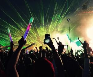 euphoria, feeling, and festival image