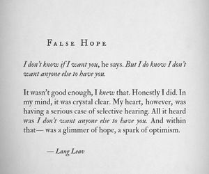 love, Lang Leav, and quote image