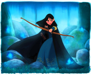 mulan, disney, and brave image