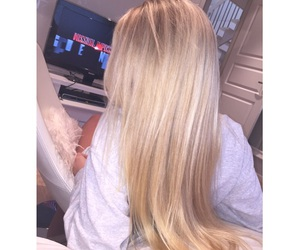 blonde, inspo, and longhair image