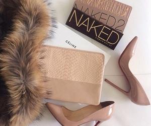 fashion, naked, and makeup image