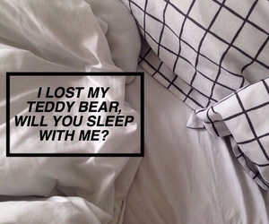 bed, lyric, and quote image