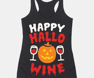 hallowine, party t shirt, and halloween t shirts image
