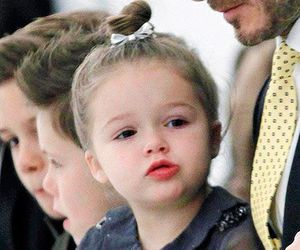 harper beckham, cute, and David Beckham image